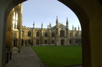 Corpus Christi College where Christopher Marlowe (Faustus) and Hugh Bonneville (Downton Abbey) studied.