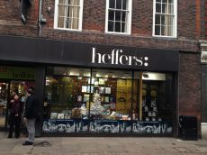 And Heffers, my favorite bookstore hang out. Shame about the name.