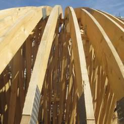 Structure du dôme