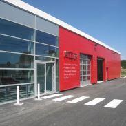 Accès Show-room et accès atelier