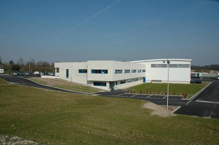 Vue du bâtiment adminstratif