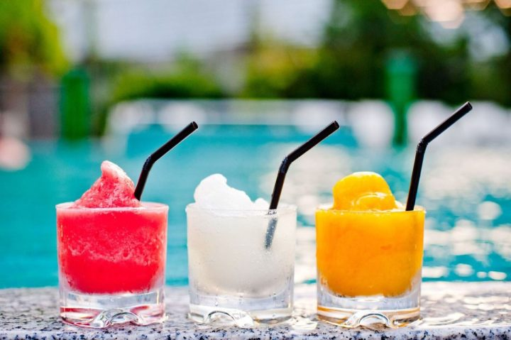 Grand Hyatt Singapore - Oasis - Margaritas by the pool