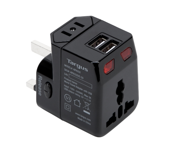 SECRET SANTA GIFT IDEALS - CHRISTMAS 2017 - USB TRAVEL ADAPTER (10)