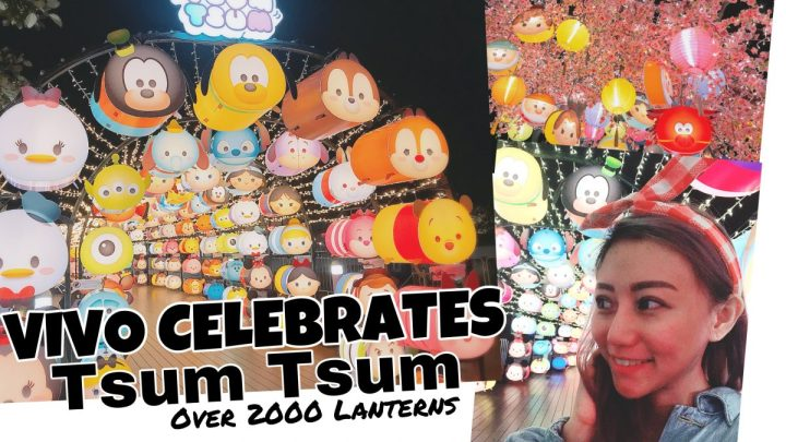 Vivo Celebrates Tsum Tsum with Over 2000 Lanterns This Mid-Autumn