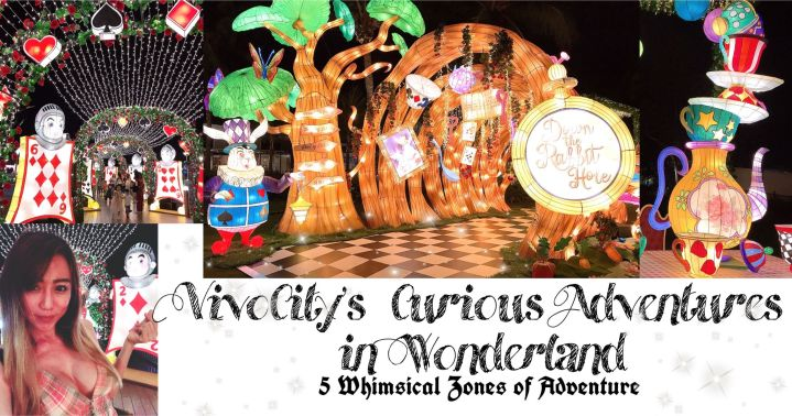VivoCity's Curious Adventures in Wonderland