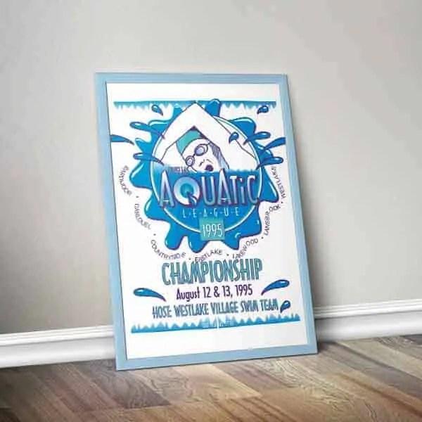 Poster-Aquatic-Swim-Championship