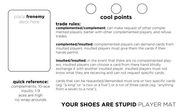 YourShoesAreStupidMat