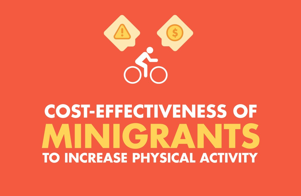 Cost-Effectiveness of Minigrants to Increase Physical Activity