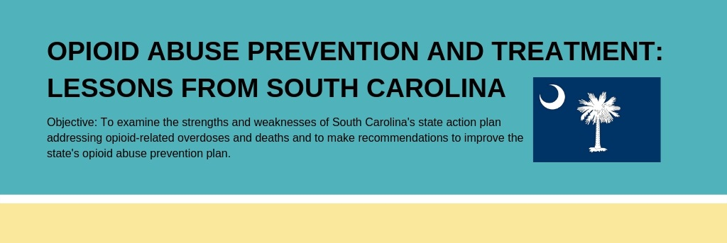 Infographic: Opioid Abuse Prevention and Treatment: Lessons from South Carolina