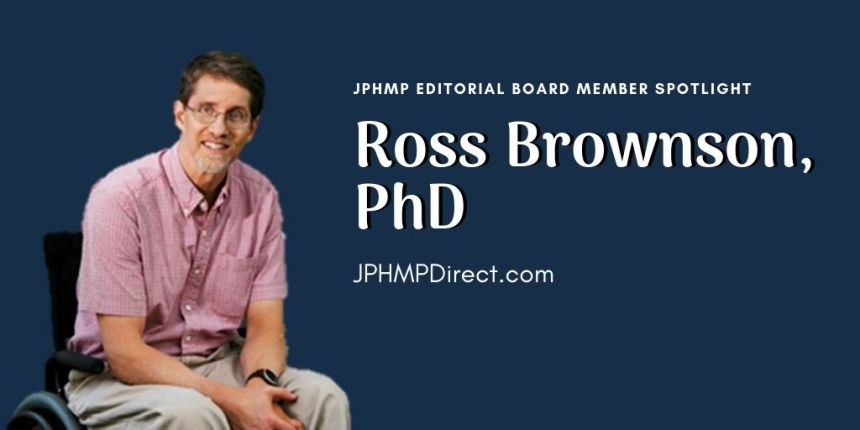 JPHMP Editorial Board Spotlight