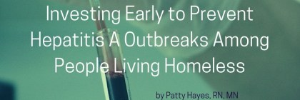 Prevent Hepatitis A Homeless