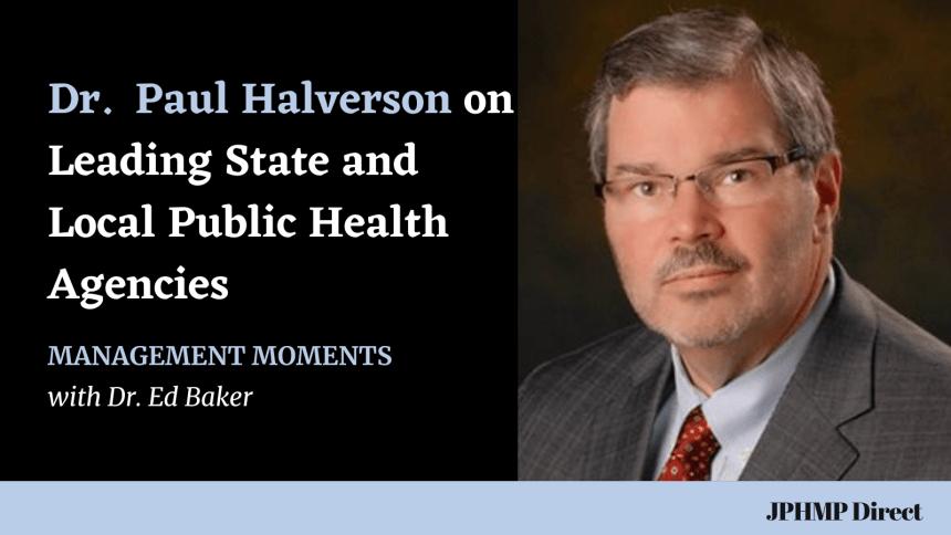 Paul Halverson SHO leadership