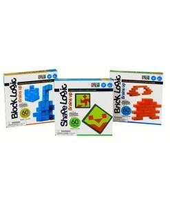 Logic Game Set - Shape-Block-Brick Set - STEM