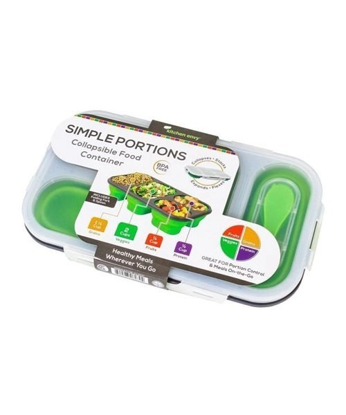 Collapsible Food Container Kitchen Envy Jpin Supply