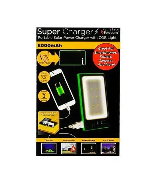 Super Charger Portable Solar Charger