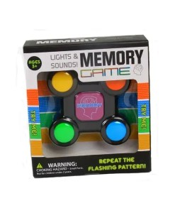 Lights And Sounds Memory Game