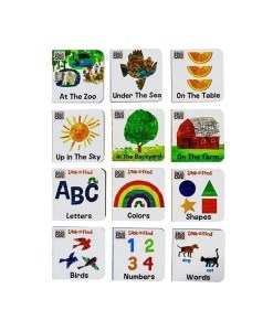 My First Library - Eric Carle Board Books