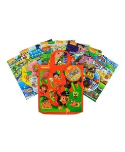 Nickelodeon Look and Find 6 Set With Tote