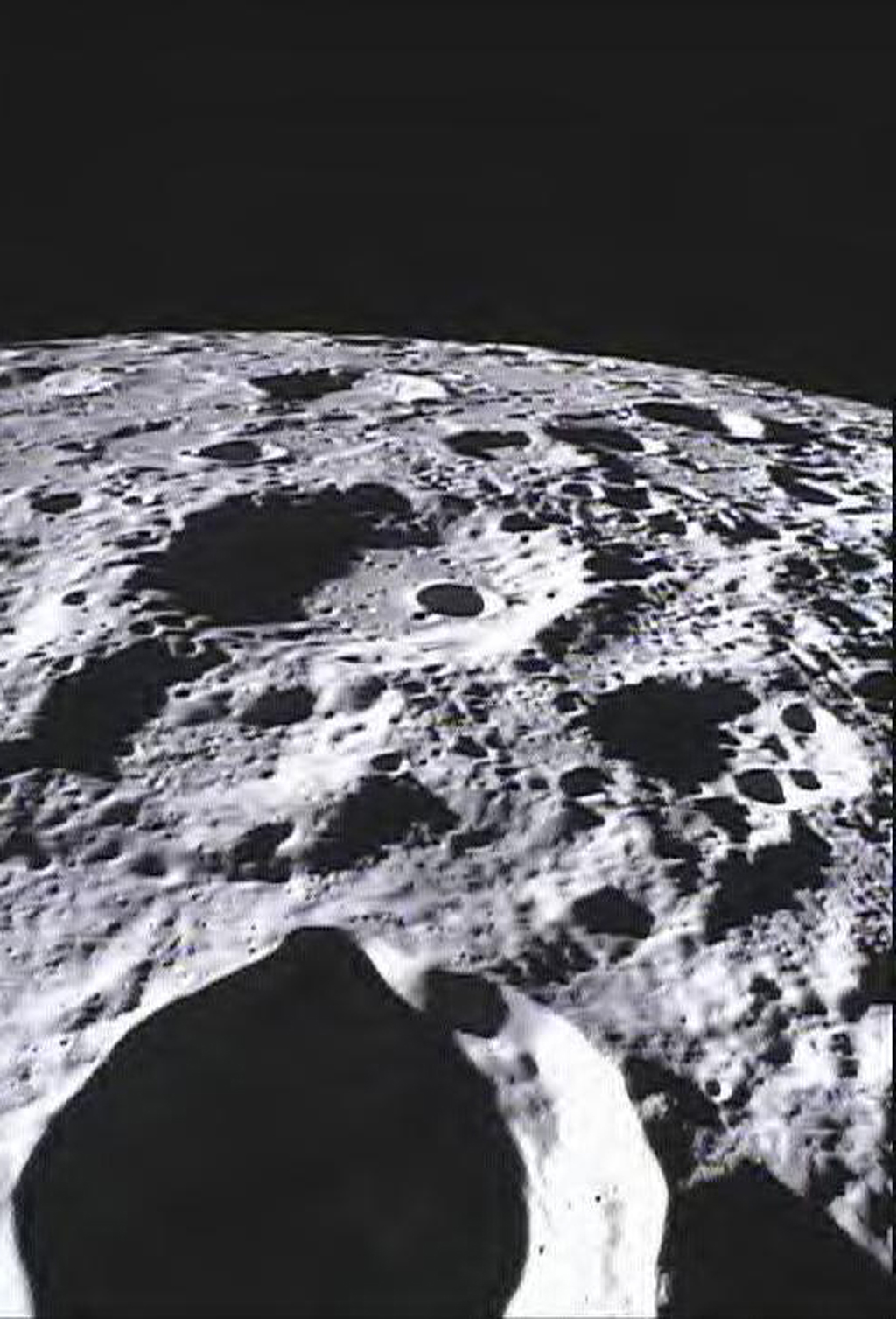 Space Images Far Side Of Moon Imaged By MoonKAM