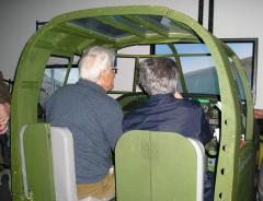 Simulateur Mitchell B-25 - André Lefrancois