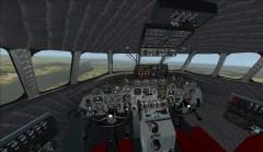 Cockpit du Constellation sous FSX
