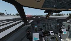 Cockpit du Dash 7 avec FSX
