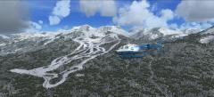 Lake louise ski resort sur flight Simulator X