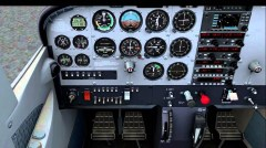 Cessna172 trainer A2A Simulations