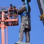 Robert E. Lee Statue Dismantled
