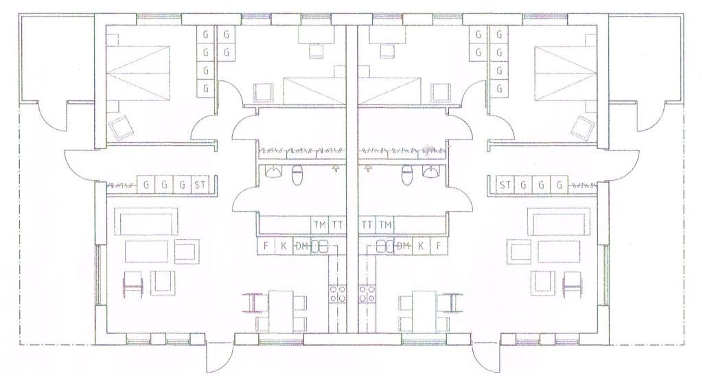 planritning för lägenheter