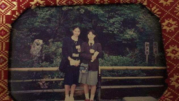 Kinkakuji with a friend