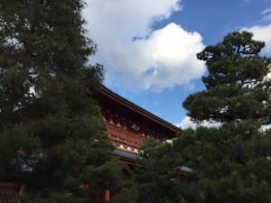 大徳寺 門