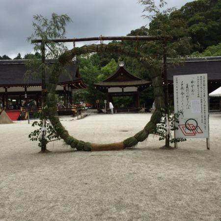 京都・上賀茂神社 夏越の祓と水無月