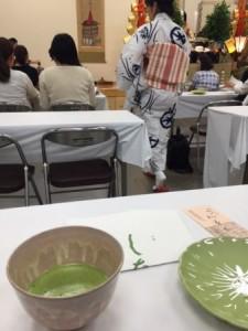 菊水鉾 茶席