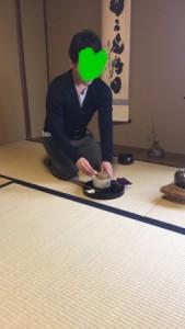 Private tea ceremony lesson in Kyoto