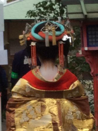 京都・常照寺 吉野太夫の野点 花供養茶会