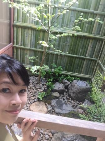 坪庭を改装しました!きものを着て、写真撮影もできる茶室。