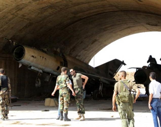 قائد ميداني: مطار الضمير العسكري آمن بشكل كامل ويقوم بجميع مهامه
