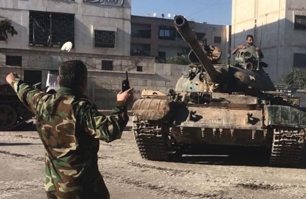 الجيش السوري يسيطر على كتيبة الدفاع الجوي بحلب ويتقدم في ريف دمشق الجنوبي