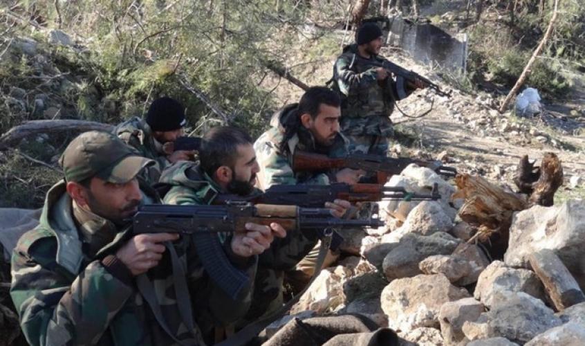 الجيش السوري يسيطر على الأبنية الشمالية المحيطة بنبع الفيجة