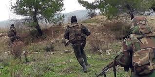 القضاء على إرهابيين وتدمير مقراتهم في دير الزور وريف حمص الشمالي