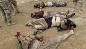استهدف مقرات وتحركات داعش في دير الزور ومقتل 14 على الاقل