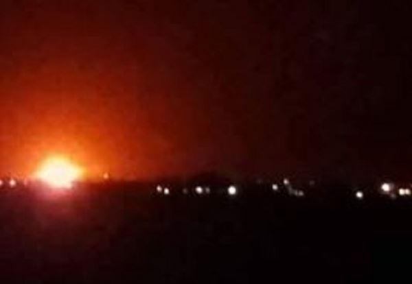 انفجارات ضخمة بمحيط مطار دمشق الدولي فجراً .. والسبب؟