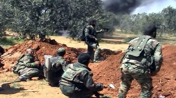 الجيش يواصل تعامله مع خروقات الارهابيين بريف حماة الشمالي ويقضي على عدد منهم