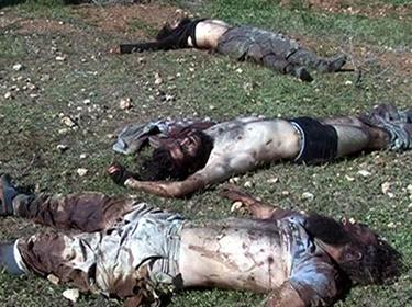 عشرات القتلى من إرهابيي داعش بقصف مروحي للجيش في ريف حمص