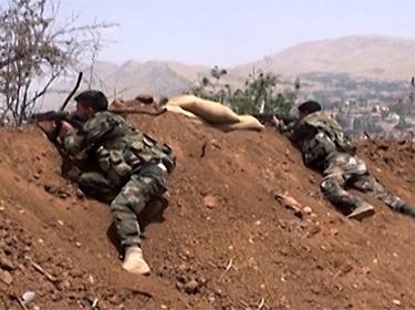 مقتل 36 إرهابياً وتدمير سيارة محملة بالذخيرة بريف اللاذقية الشمالي
