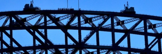 Bridge Climbers Banner