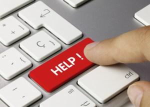 HELP! tastatur finger