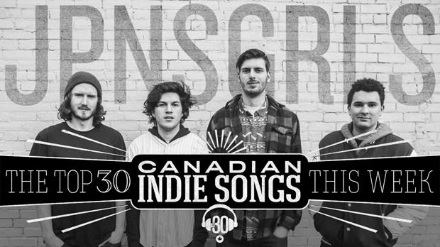 JPNSGRLS on CBC R3's Top 30 Canadian Indie Songs this Week