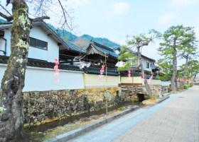 竹田寺町通り